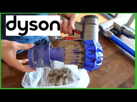 HOW TO CLEAN THE DYSON V6 VACUUM CLEANER