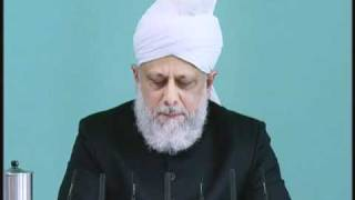Friday Sermon: 8th October 2010 - Part 3 (Urdu)