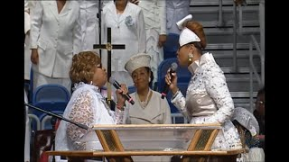 Karen And Twinkie Singing At The COGIC 107th Holy Convocation