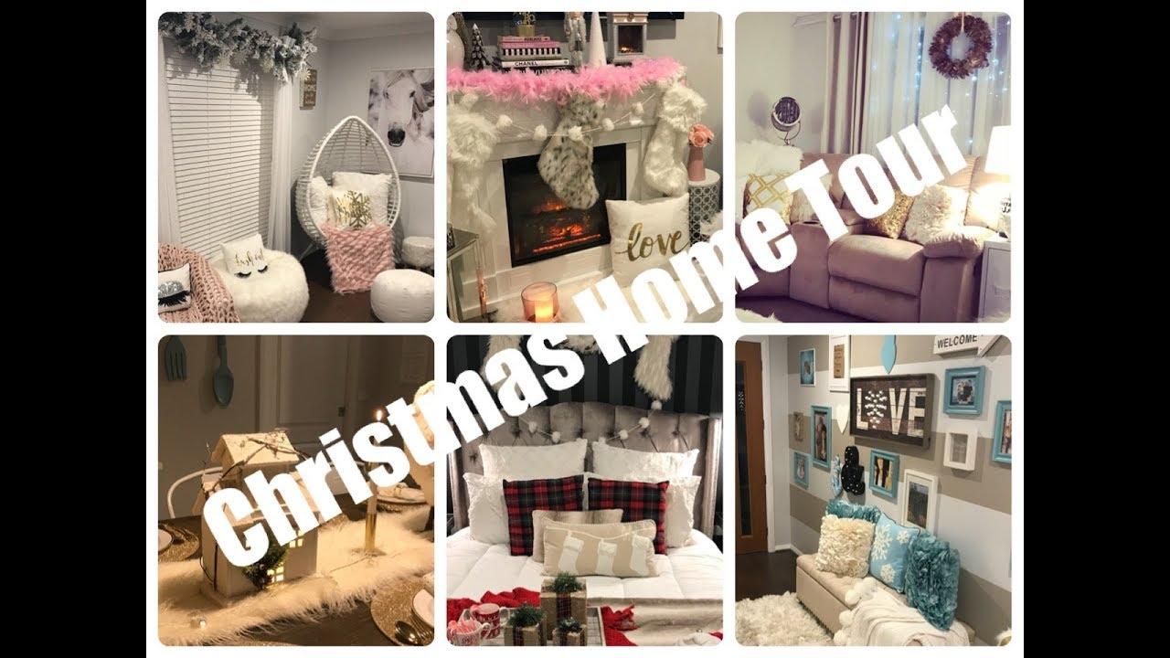 Glam Christmas Home Decor Christmas Home Tour 2017 Youtube