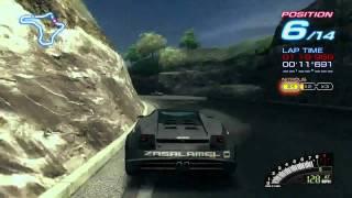 Ridge Racer 6 Gameplay for Microsoft Xbox 360