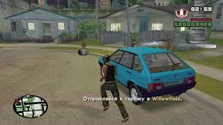 GTA San Andreas криминальная Россия прохождение миссий 3 часть