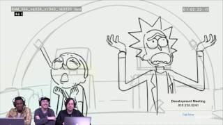 Rick and Morty Season 3 Sneak Peek on Development Meeting   Adult Swim