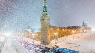 Москва 8 Мая 2017 года. Снегопад как на Новый Год завтра Парад Победы