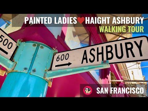 Walking Tour Of Painted Ladies , Haight Ashbury , Fillmore & NoPa (San Francisco Highlights)