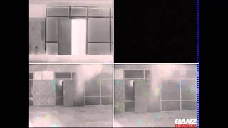 Ganz Thermal Imaging Camera Series Demonstration of clear imagery through Smoke
