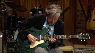 Download Vintage Epiphone Casino pelham blue from 1967 MP3 song and Music Video
