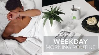 WEEKDAY MORNING ROUTINE | Noa Taieb