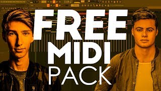 FREE MIDI PACK FOR FUTURE HOUSE / BOUNCE BY MAXX LYON