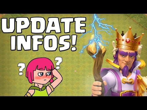 NEUE UPDATE INFOS! ☆ Clash of Clans ☆ CoC