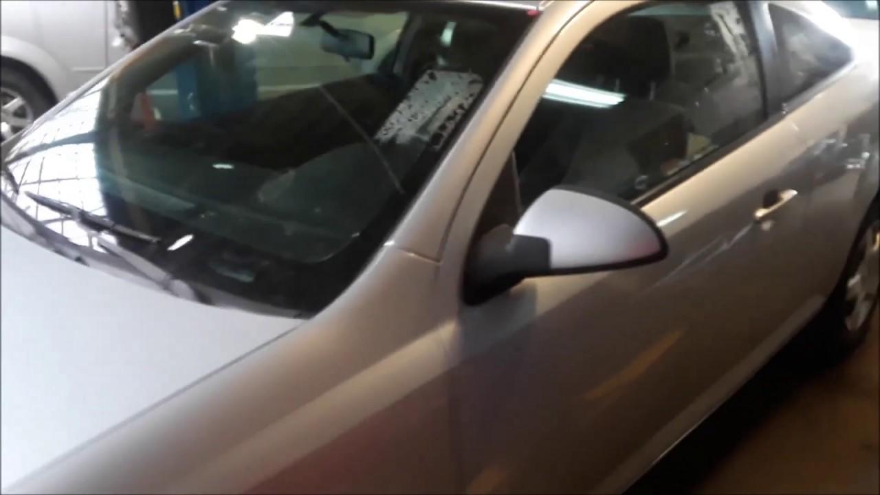 Chevy Cobalt Hidden Trunk Release On