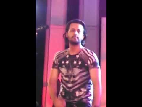 Atif Aslam performing Meri Kahani Live