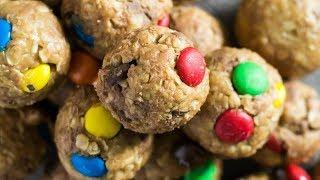 No Bake Monster Cookie Bites