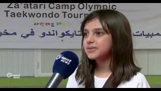 عائلة سورية في الاردن تلعب التايكواندو وتحرز ميداليات ذهبية