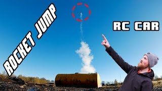 ROCKET JUMP RC CAR - Worlds highest vertical jump with an RC car! (probably)