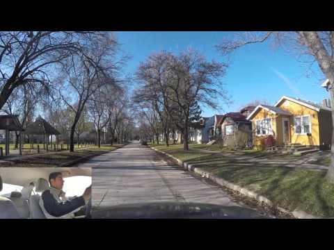 Winnipeg City Driving Lesson - Pembina and Grant Area