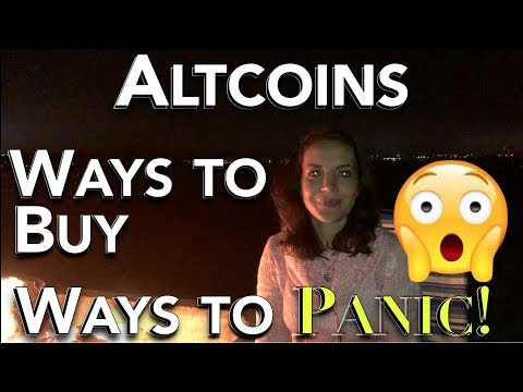 ALTCOINS - Ways To BUY 🤑 - Ways To PANIC! 😱       Shapeshift / Changelly / Binance