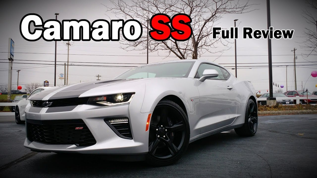 2018 Chevrolet Camaro Ss Coupe Full Review 2ss 1ss