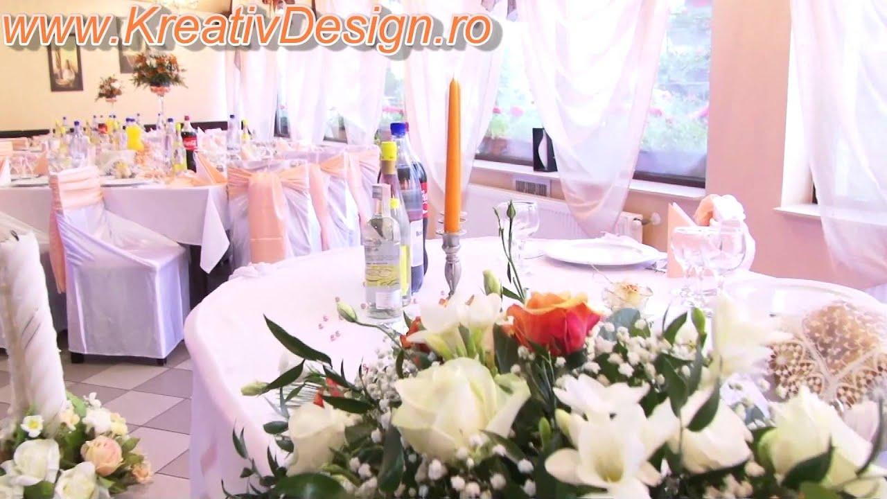Decoratiuni Nunti Suceava Aranjamente Florale Nunta Suceava Cluj