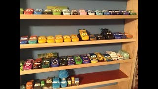 My Entire Disney cars planes mini racers and Disney store diecast collection! (360+ Cars)