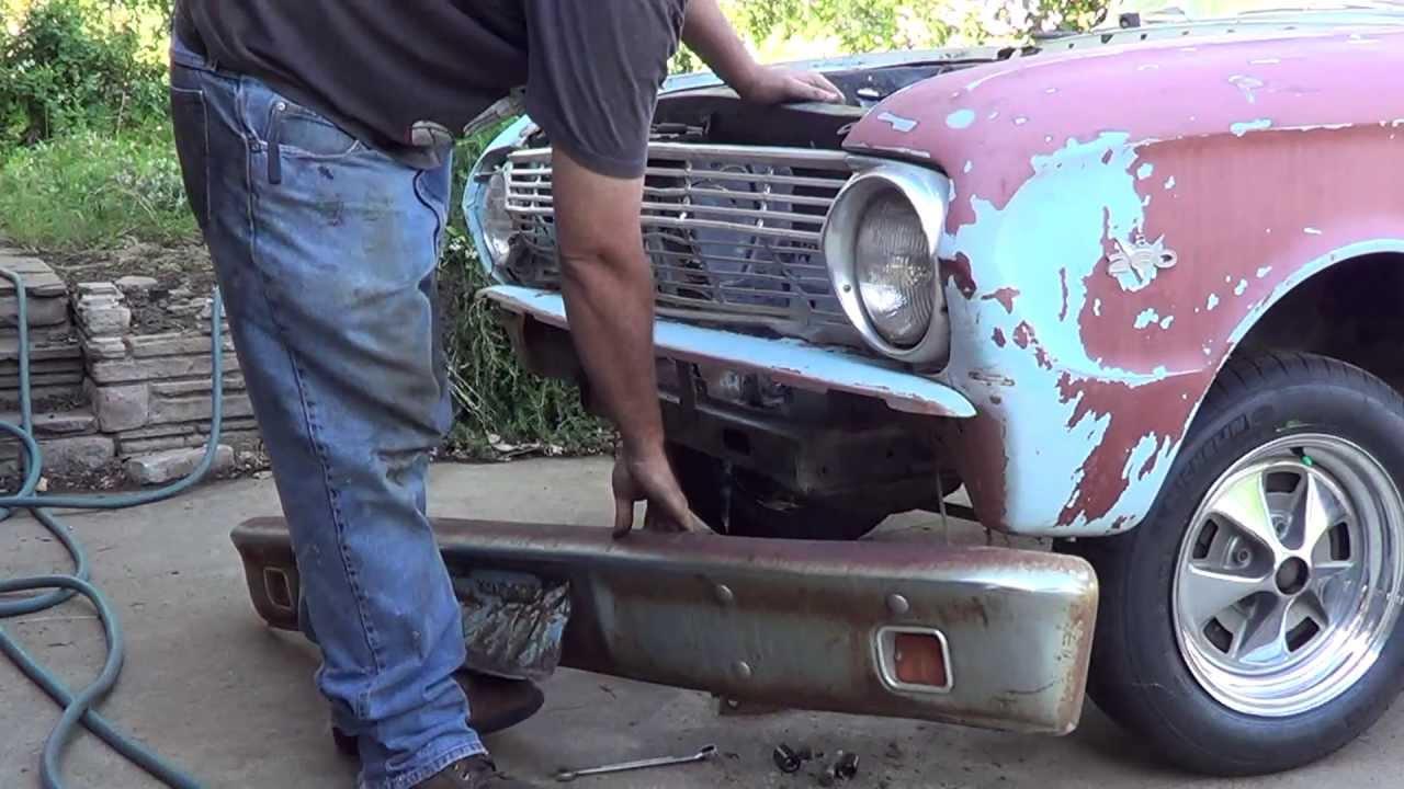 Oh My Garage 1963 Falcon Ranchero Rusty Quot Restoration