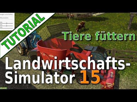 LS15 Tutorial: Tiere füttern, Mischration, Silage, Stroh, Heu und Ballen pressenиз YouTube · Длительность: 19 мин