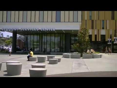 San Diego Mesa College B-Roll Footage: Campus Footage