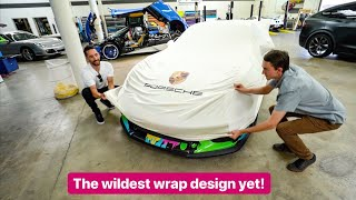 REVEALING NEW PORSCHE GT3RS WRAP DESIGN!