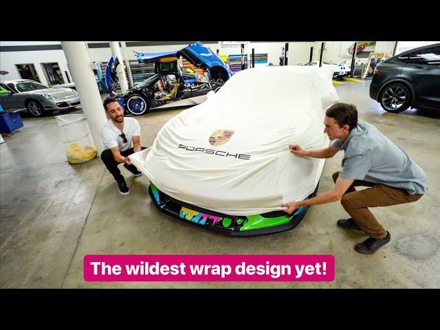 REVEALING NEW PORSCHE GT3RS WRAP DESIGN!
