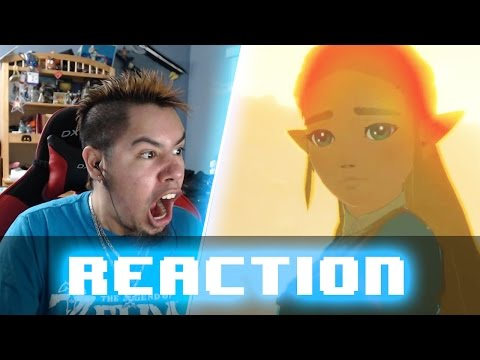 BREATH OF THE WILD RELEASE DATE TRAILER REACTION!