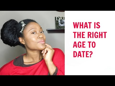 what is right age to start dating