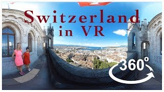 Virtually Switzerland - Geneva - by World Travel VR - (360 Video)