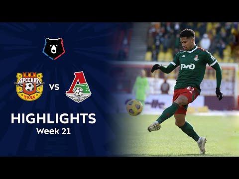 Arsenal Tula Lokomotiv Moscow Goals And Highlights