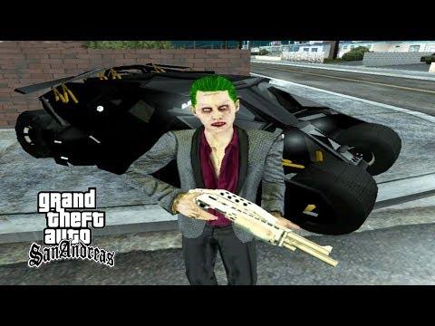 Akhirnya Joker Mengalahkan Batman - GTA Lucu Indonesia Dyom