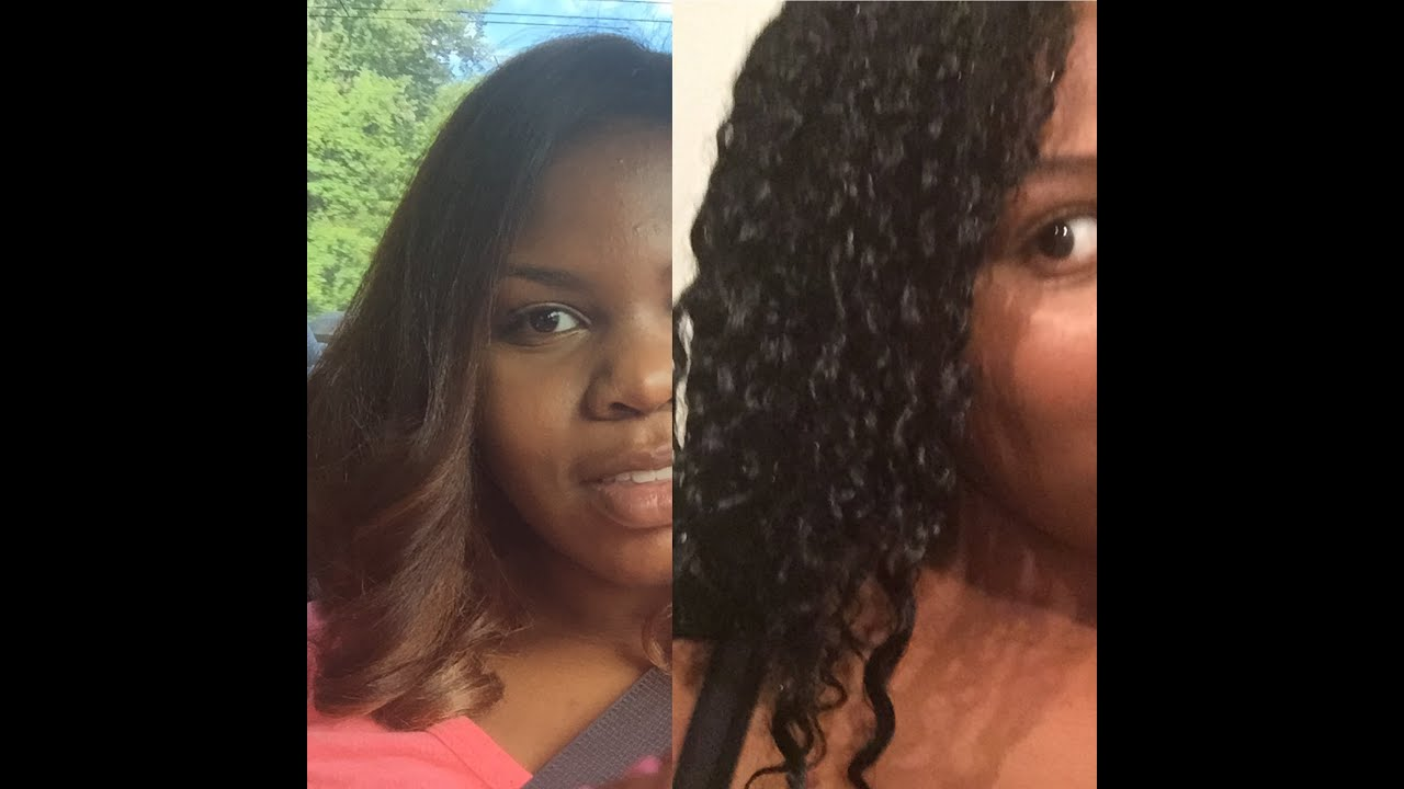 Honey Blonde Highlights To Jet Black Shea Moisture Color System