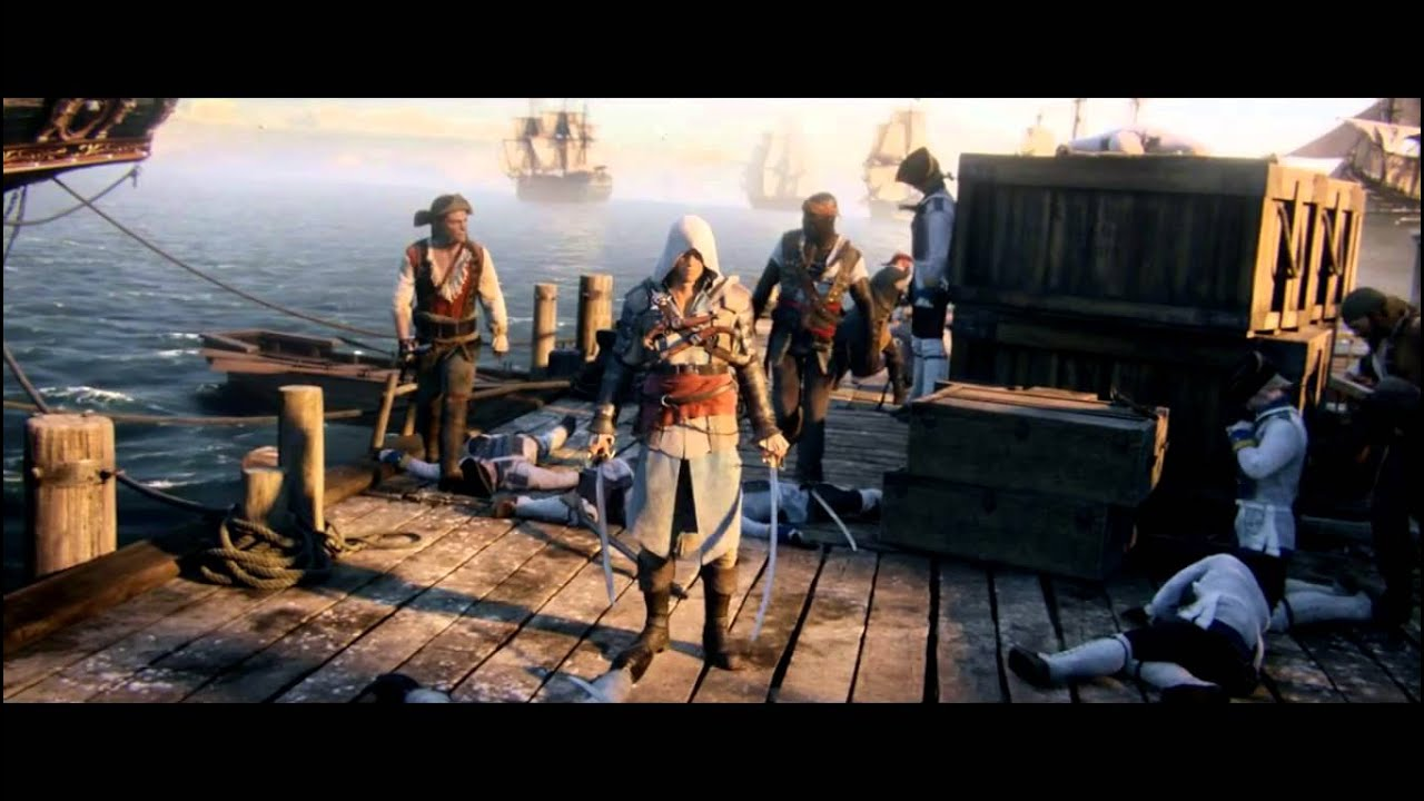 Assassins Creed 4 PS4 Trailer (HD) - YouTube