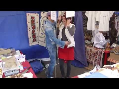 שוק סוף שבוע בבוקרשט רומניה - Weekend market in Bucharest Romania