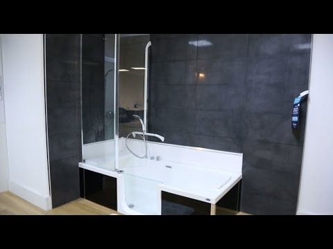 le duo douche bain de kinedo youtube. Black Bedroom Furniture Sets. Home Design Ideas