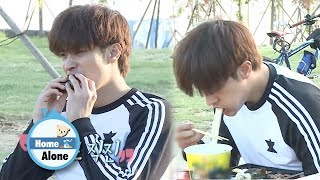 There's No Point of Exercising if Sung Hoon Eat This Much [Home Alone Ep 263]