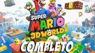 SUPER MARIO 3D WORLD - COMPLETO