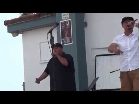 """Christian Rap Group """"Real Life"""" performing Live @ (Oceanside Music Concert 2016)"""