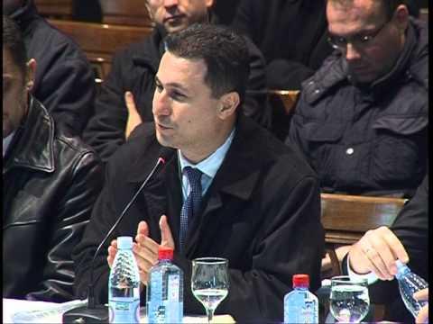 Izjava Nikola Gruevski   20 11 12