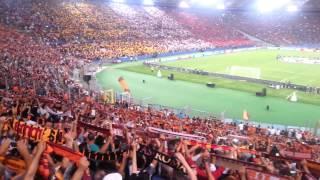 """""""Roma, Roma, Roma""""  - Roma vs. Barcelona, Champions League, Stadio Olimpico 16.09.2015"""