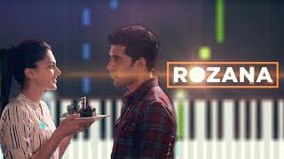 Rozana Piano Tutorial ( Slow )   Naam Shabana   Tahppsee Pannuu   Free Midi (Piano )