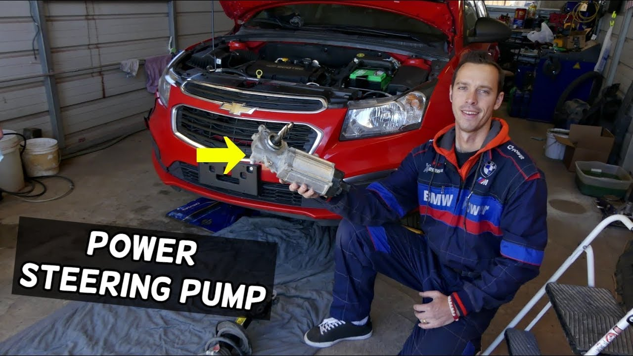 Chevrolet Cruze Power Steering Pump Replacement Removal Electric Power Steering Pump