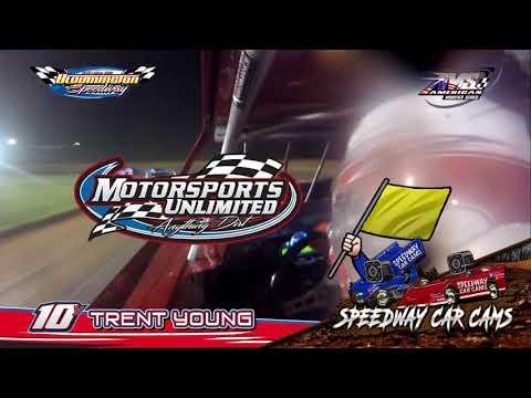 #10Y Trent Young - Open Wheel - 5-4-18 Bloomington Speedway - In Car Camera