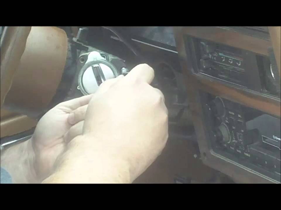 How To Change An Ignition Key Switch Youtube