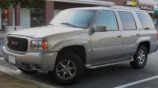 История автомобиля. Chevrolet Tahoe  и GMC Yukon. С музыкальным сопровождением