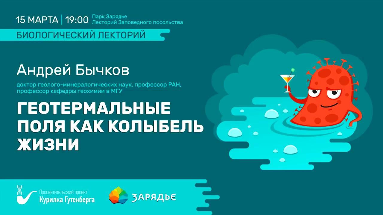 Происхождение жизни, цинковый мир - Бычков Андрей Юрьевич