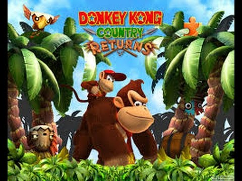 donkey kong country returns parte 4